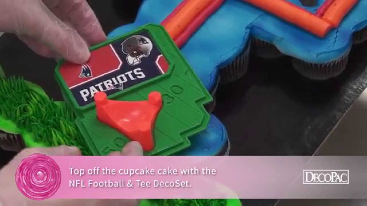 How To Make Goal Post For A Football Cake