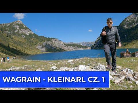 Trekking nad jezioro Tappenkarsee. Wagrain - Kleinarl cz. I  (Vlog129)
