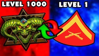 ROUND 100 OR I RESET MY LEVEL 1000 STATS (Black Ops 3 Zombies)