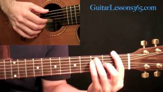 Imagine Acoustic Guitar Lesson - John Lennon