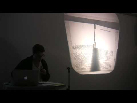 Artists on Artists Lecture Series - Gedi Sibony on Bruce Nauman