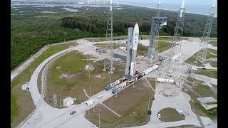 Atlas V GOES-S: Aerial Views Leading to Launch