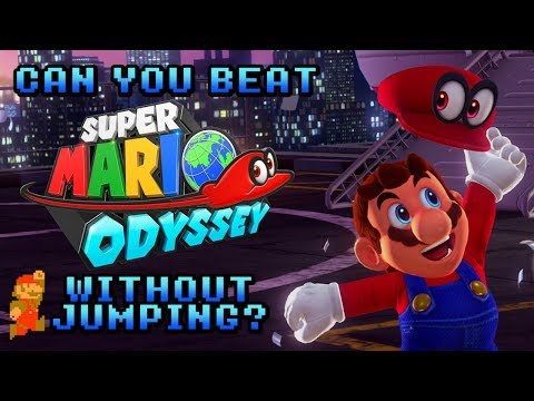 VG Myths - Can You Beat Super Mario Odyssey Without Jumping?