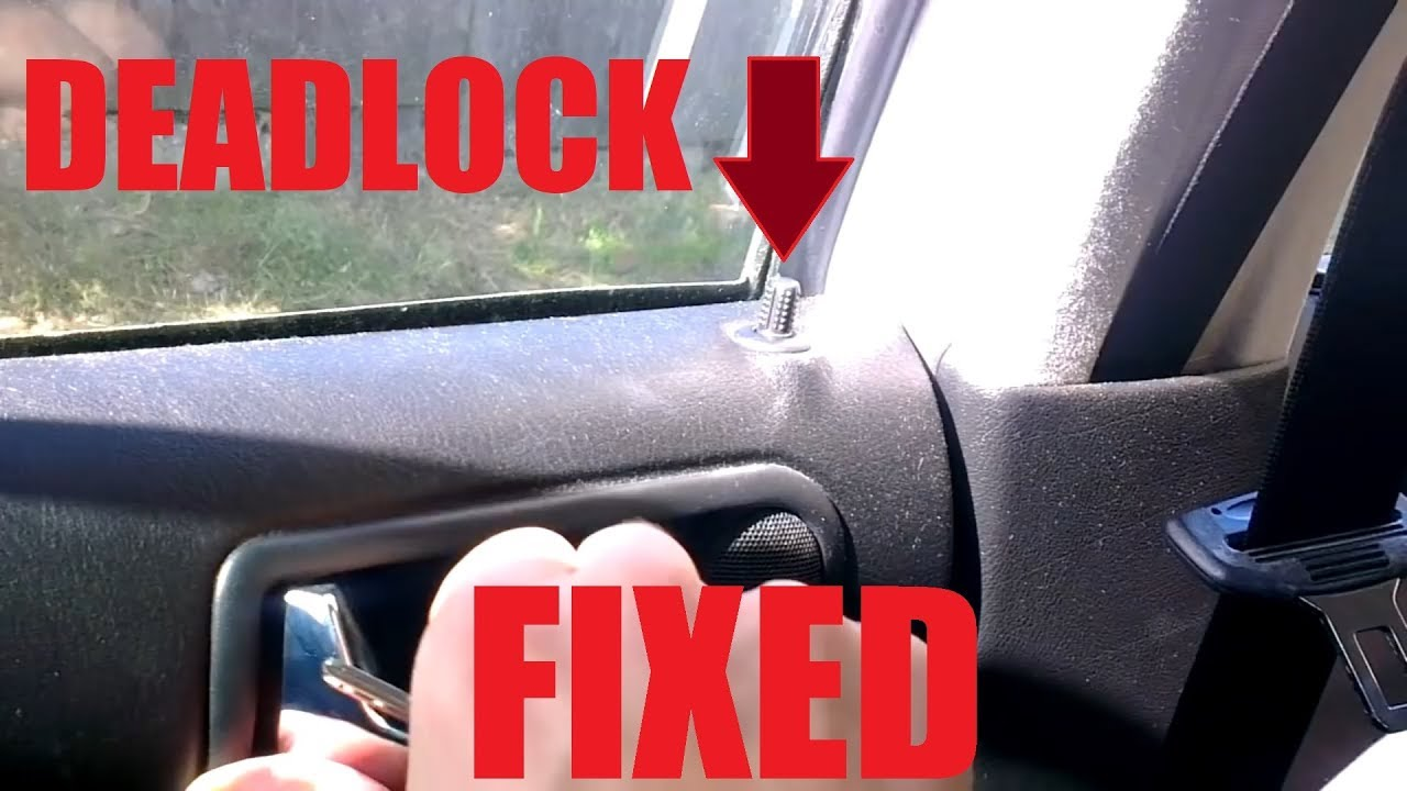 Golf Mk4 Door Lock Problem Solved Youtube