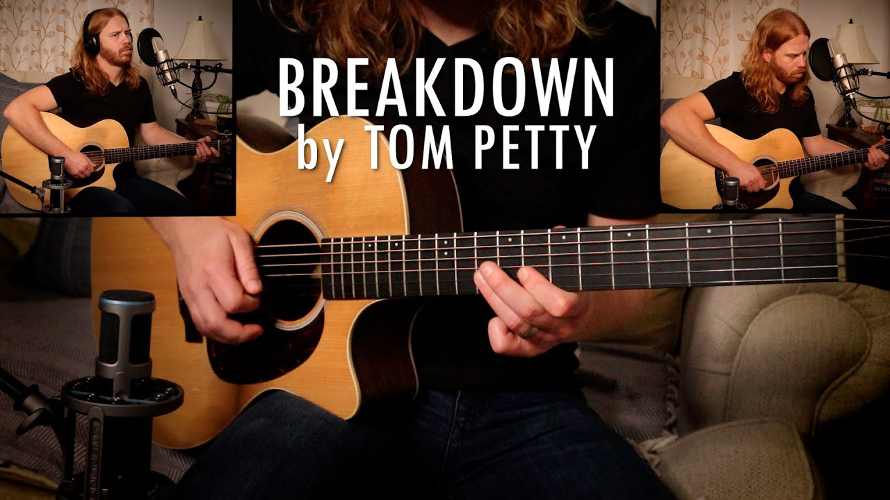 """Breakdown"" by Tom Petty - Adam Pearce (Acoustic Cover)"