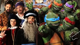 Artists vs TMNT. Epic Rap Battles of History thumbnail