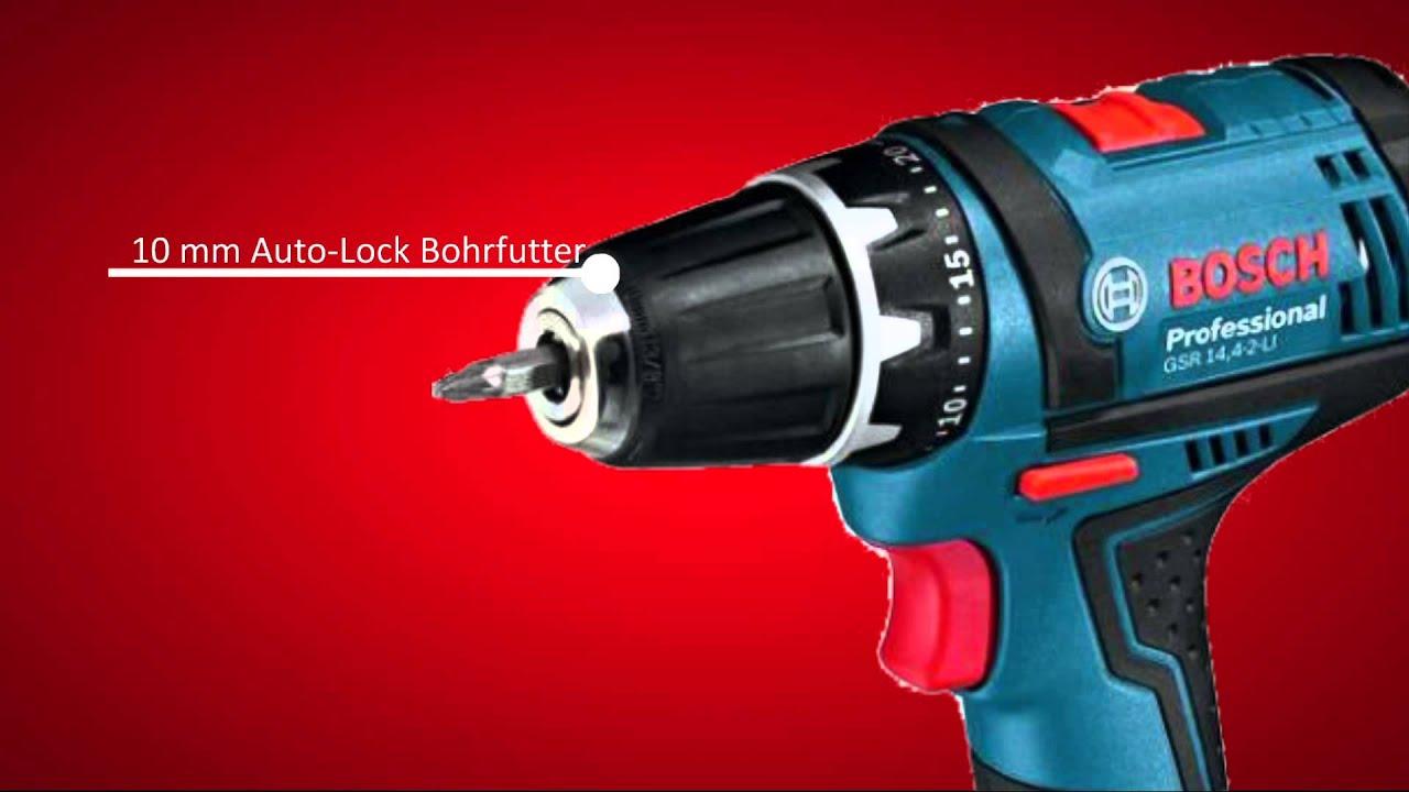Bosch Akku Bohrschrauber Gsr 144 2 Li Youtube