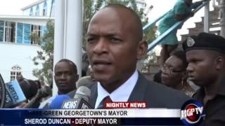 Chase Green Georgetown's Mayor