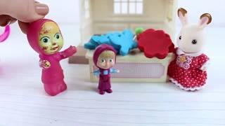 Masha Renkli Oyun Hamurlarından Kahvaltı Hazırlıyor Playdoh Maşa İle Koca Ayı
