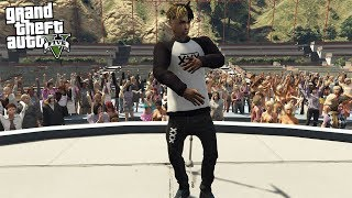 GTA 5 PLAY AS XXXTENTACION MOD - PERFORM AT CONCERT (GTA 5 Mods)