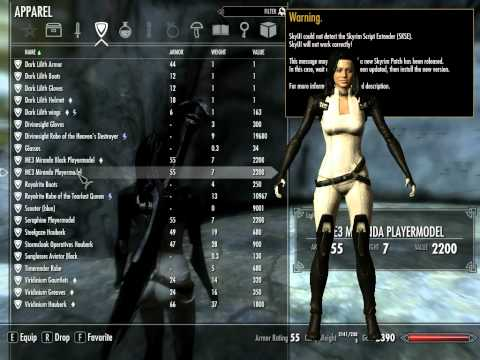 Skyrim - Miranda Lawson from YouTube · Duration:  6 minutes 18 seconds