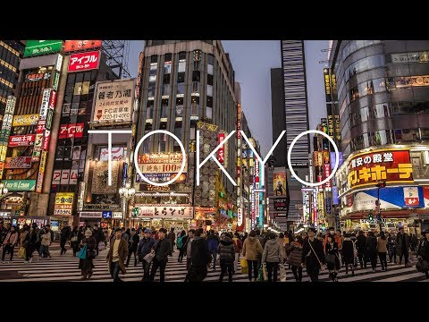 Tokyo - Exploring The Most Populated City In The World! [4K]