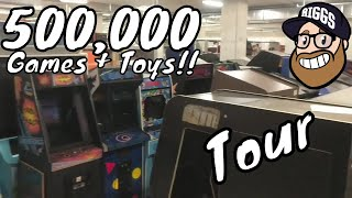 Biggest Video Game Archive!! The Strong National Museum of Play