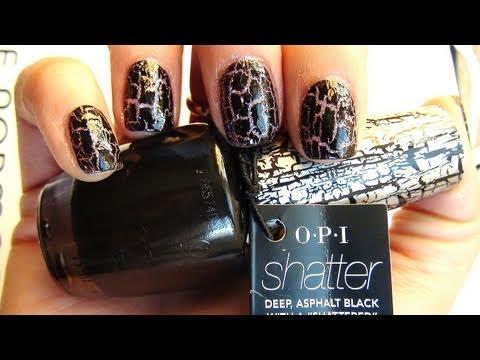 opi shatter nail polish instructions