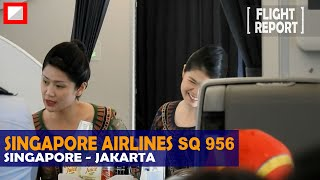 Singapore Airlines - Singapore to Jakarta (SQ956) - Airbus A350-900