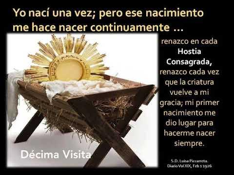 10. Décima Visita A Jesús Sacramentado
