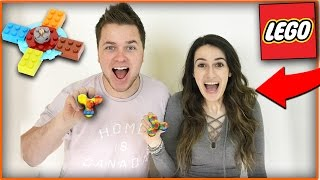 LEGO FIDGET SPINNER MOD! MASSIVE FIDGET SPINNER GIVE AWAY! (FIDGET SPINNER)