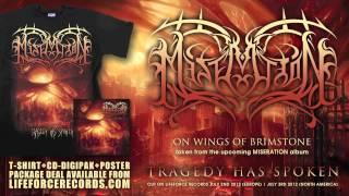 MISERATION - On Wings Of Brimstone (full track teaser)