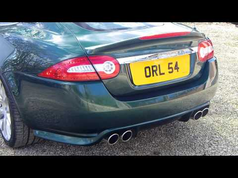 Jaguar XKR-S Optic Stainless Exhaust for X150