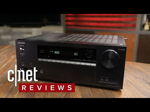 Onkyo's TX-NR575 Does Everything You Want In A 2017 Receiver