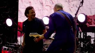 """The Punk and the Godfather"" - The Who & Eddie Vedder live 6 July 2019 Wembley Stadium, London"