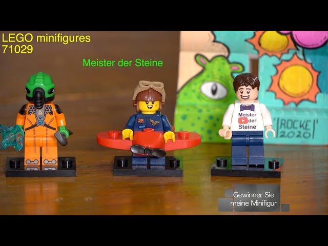 Lego, minifigures, SERIES 21, Gewinnen Sie meine Minifigur, Meister der Steine