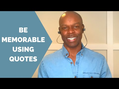 Speak Quotes Gorgeous Public Speaking How To Properly Use Quotes When You Speak YouTube