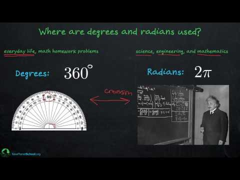 Trigonometry: Radians and Degrees