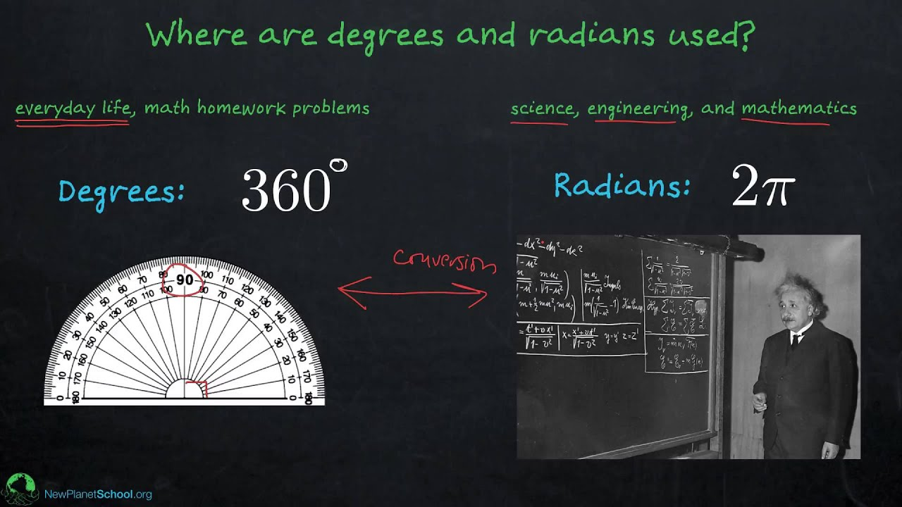 Trigonometry: Radians and Degrees