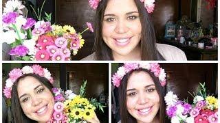 DIY: Cómo hacer una corona de flores Thumbnail