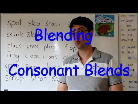 Blending Stage 3:  Consonant Clusters