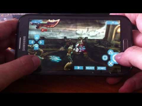 God Of War (Ghost of Sparta) on ANDROID - Kratos