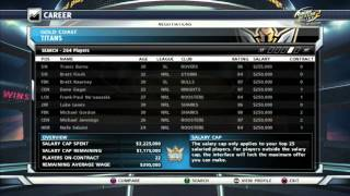 Tips and Tricks for Rugby League Live 2 Career Mode 2013