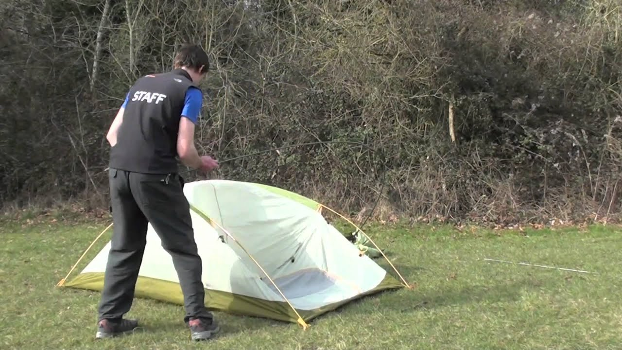 & How to pitch a The North Face Big Fat Frog 2 tent - YouTube