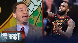 Chris Broussard's keys for Cleveland in Game 5 of Boston vs LeBron's Cavs | NBA | FIRST THINGS FIRST