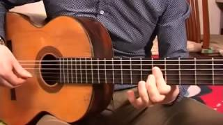 видео урок на гитаре  как играть 'ЦЫГАНОЧКУ'   подробный  разбор композиции