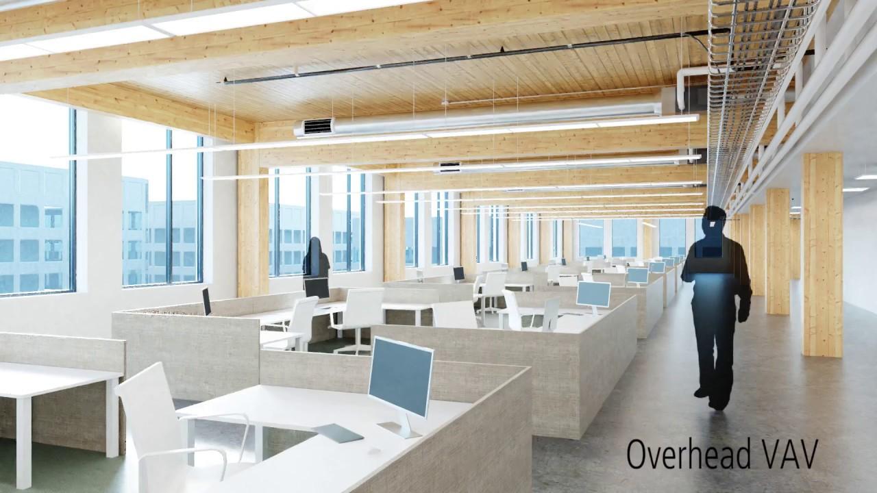 Timber Frame Building: UFAD or VAV? - YouTube