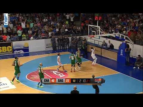 Alfa Basketball Championship - Champville v Sagesse - Ater Majok Blockshot