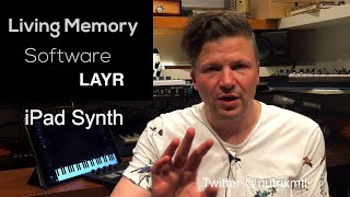LayR : iPad synth with a  twist thumbnail