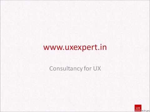UXExpert.in - UI, UX and Usability Consulting Services in Pune, India