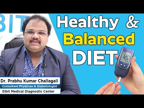 What is a healthy, balanced diet for diabetes? | Diabetes can control with a balanced diet plan