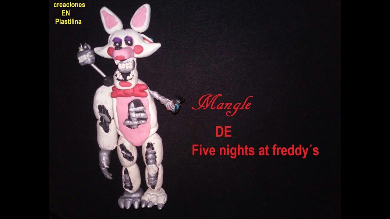 tutorial mangle en plastilina five nights at freddy s youtube