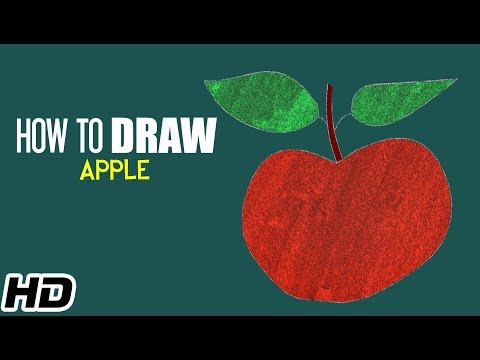 how-to-draw-&-coloring-apple-step-by-step-for-children-|-drawing-tutorials-|-shemaroo-kids-hindi