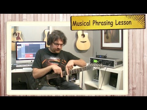 Musical Phrasing Guitar Lesson