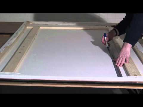 Making Theatre Scenery - Door flat (part 4 of 4) & Making Theatre Scenery - Door flat (part 4 of 4) - YouTube