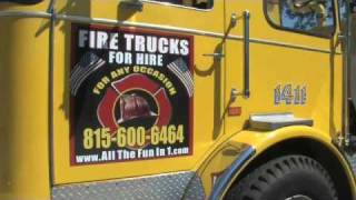 Call 815-600-6464 Chicago Fun Entertainment Ideas,fire Truck Rental,chicago Event,party Rentals