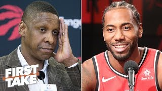 Is Masai Ujiri more important to the Raptors than Kawhi? | First Take