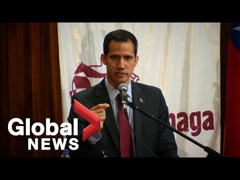 Venezuela's Guaido says it's 'ridiculous' for Maduro government to block humanitarian aid