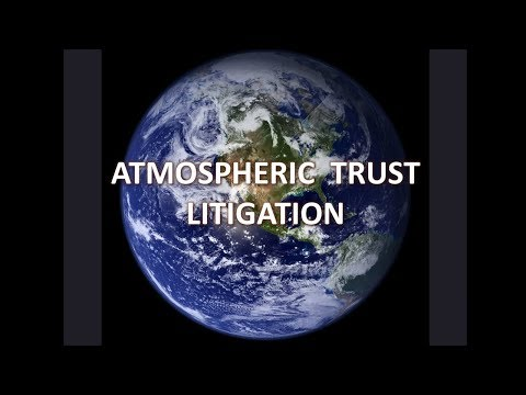 Atmospheric Recovery Litigation: Making the Fossil Fuel Companies Pay for Cleaning up the Atmosphere