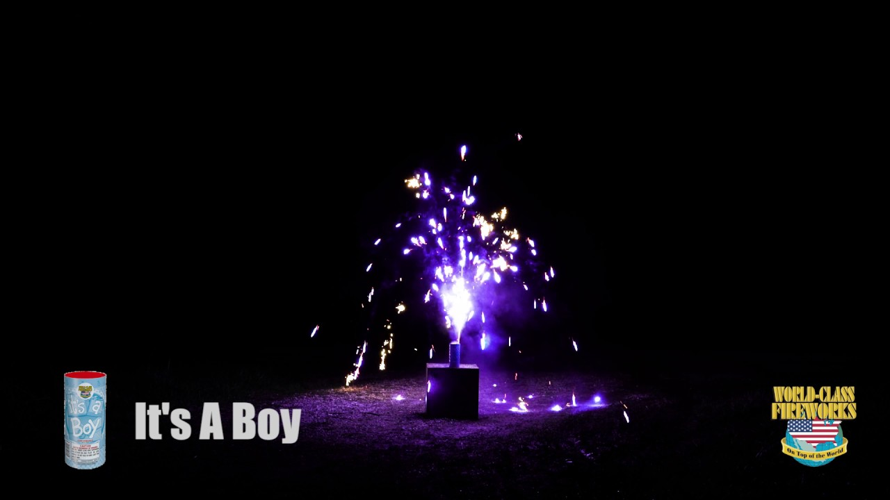 It's a Boy - World Class Fireworks - YouTube